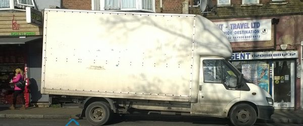 Van for moving services